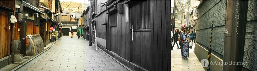 สเน่ของย่าน Gion คือความก่าแต่สวยงามนี่แหละ