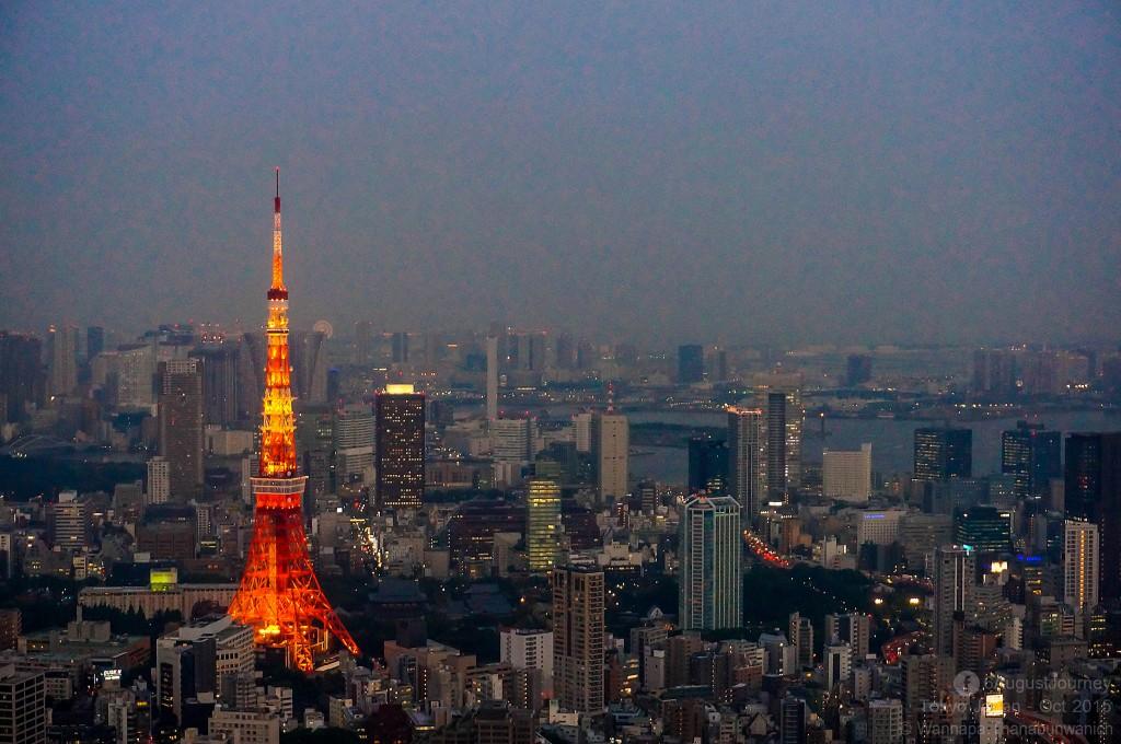 Roppongi Hills (จุดที่จะเห็น Tokyo tower ได้สวยมาก)
