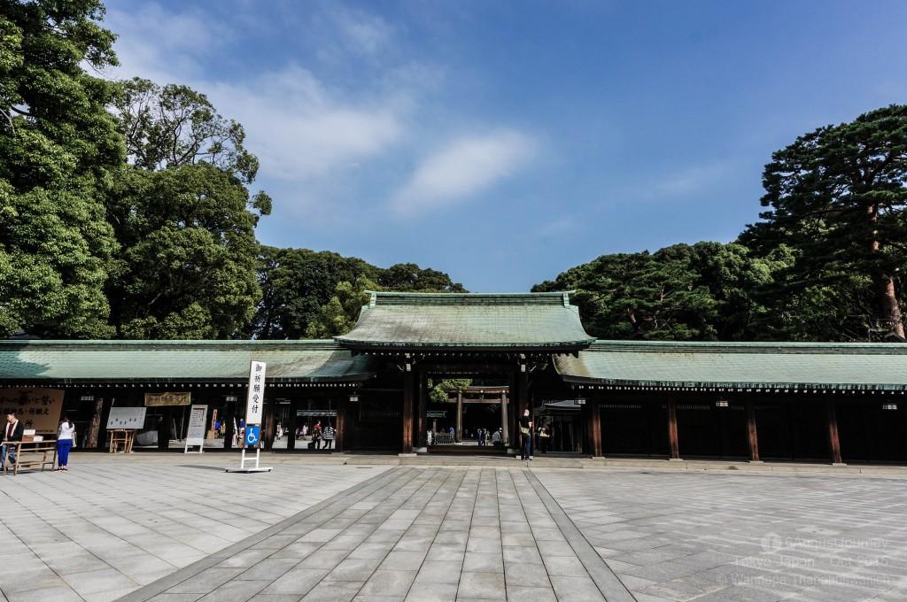 Meiji Shrine (ศาลเจ้าเมจิ)