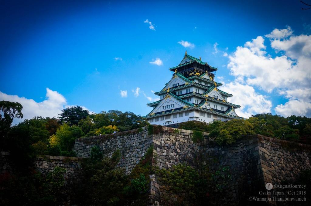 Osaka Castle (ปราสาทโอซาก้า)