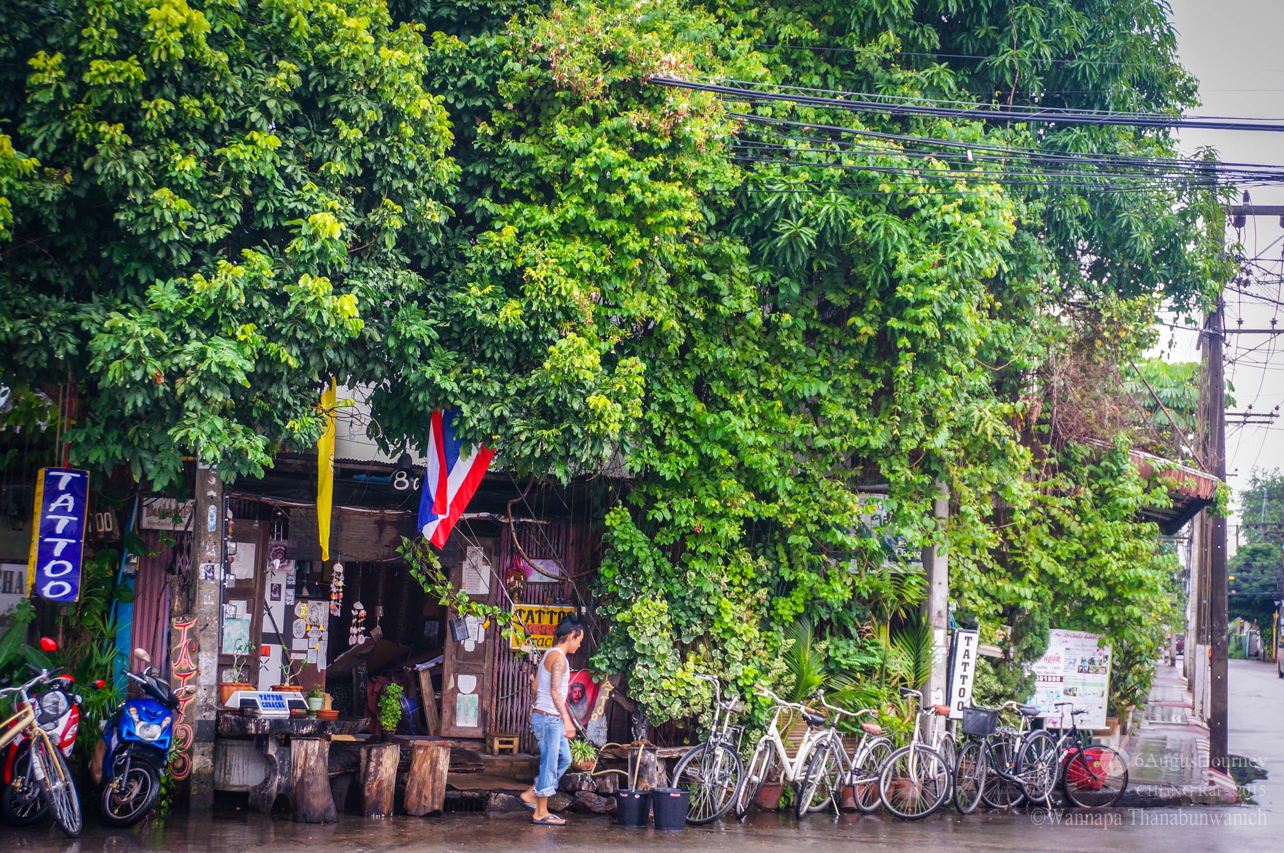 ปั่นจักรยานเที่ยวเมืองเชียงราย