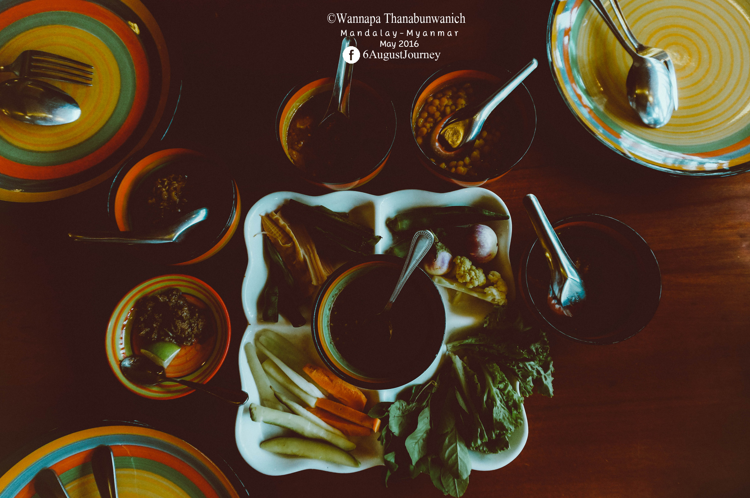 อาหารพม่าแท้