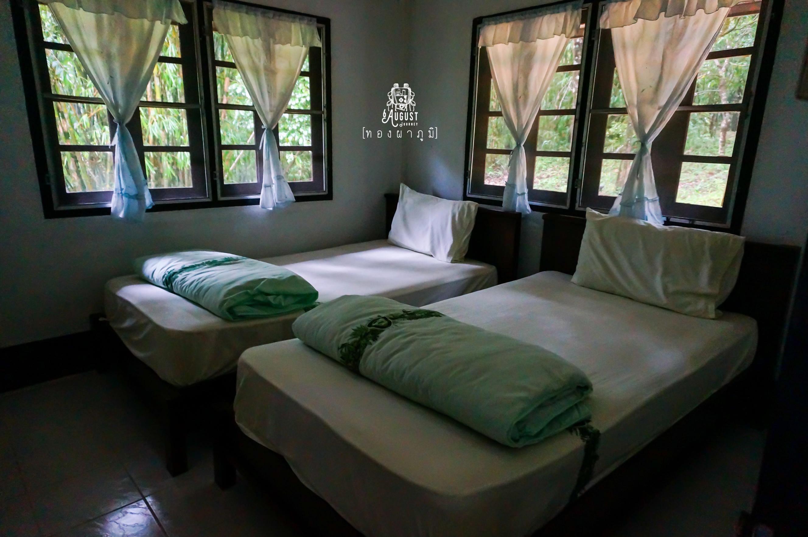 ห้องพักเป็นแบบนี้