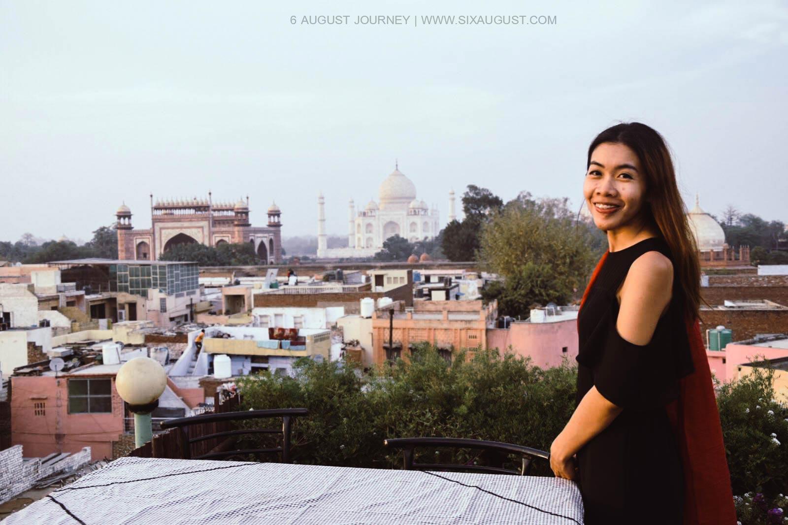 ทัชมาฮาล จากมุม Rooftop