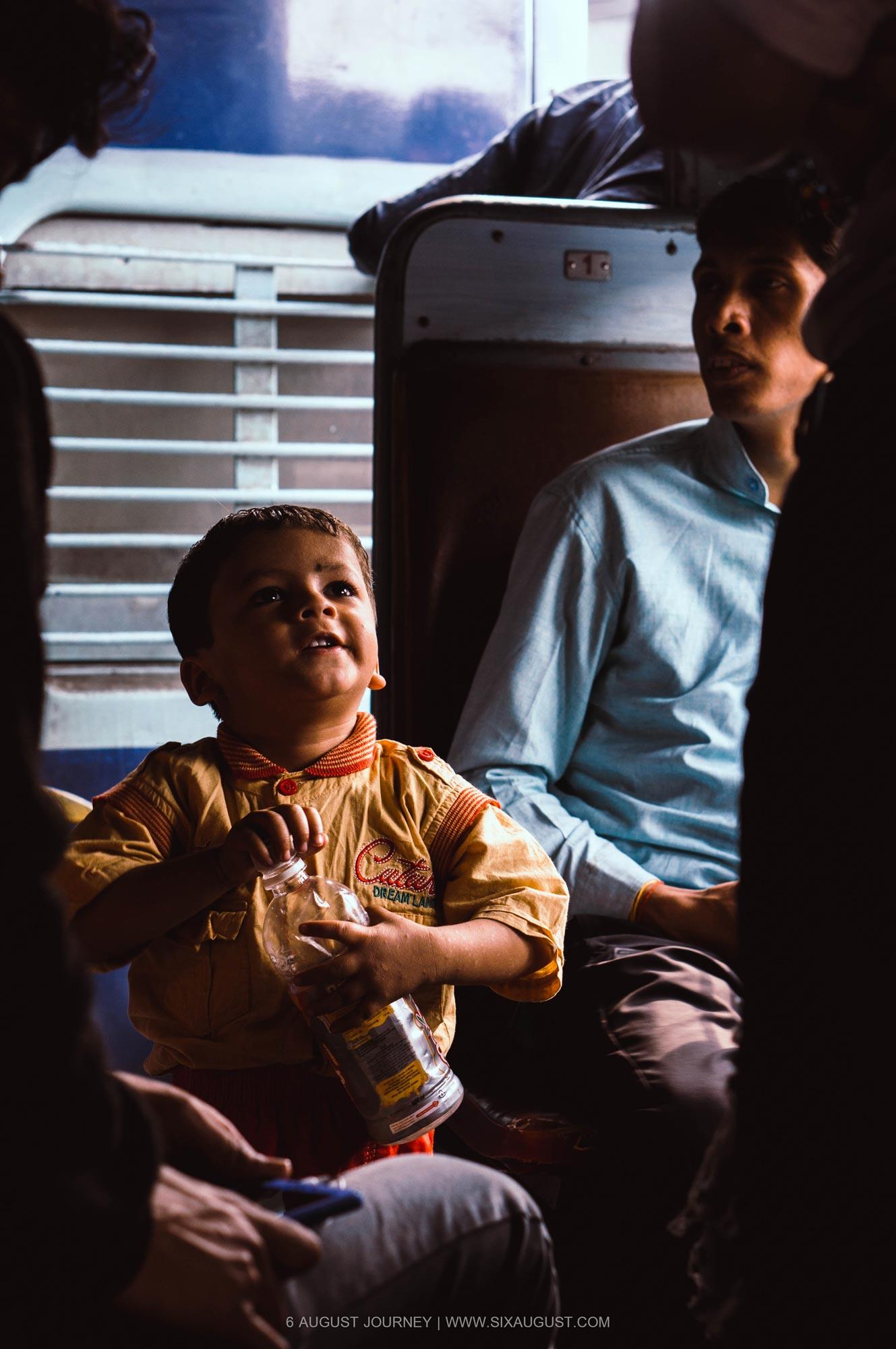 เด็กบนรถไฟ