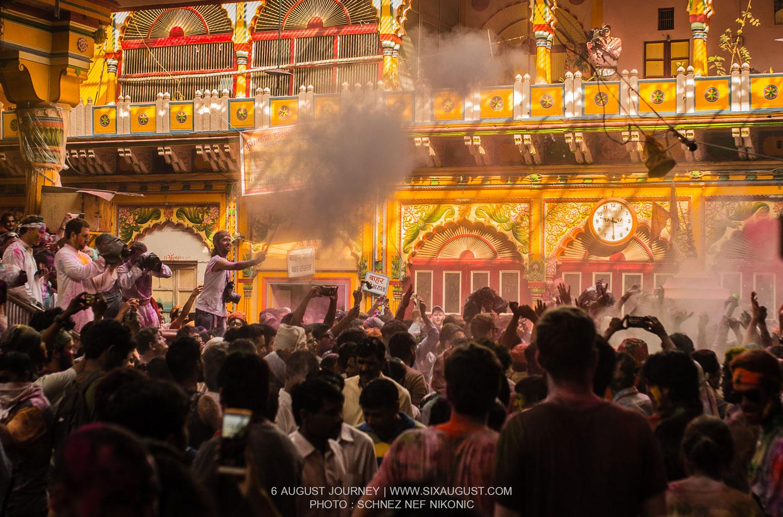 เทศกาล Holi กับแสงพระอาทิตย์