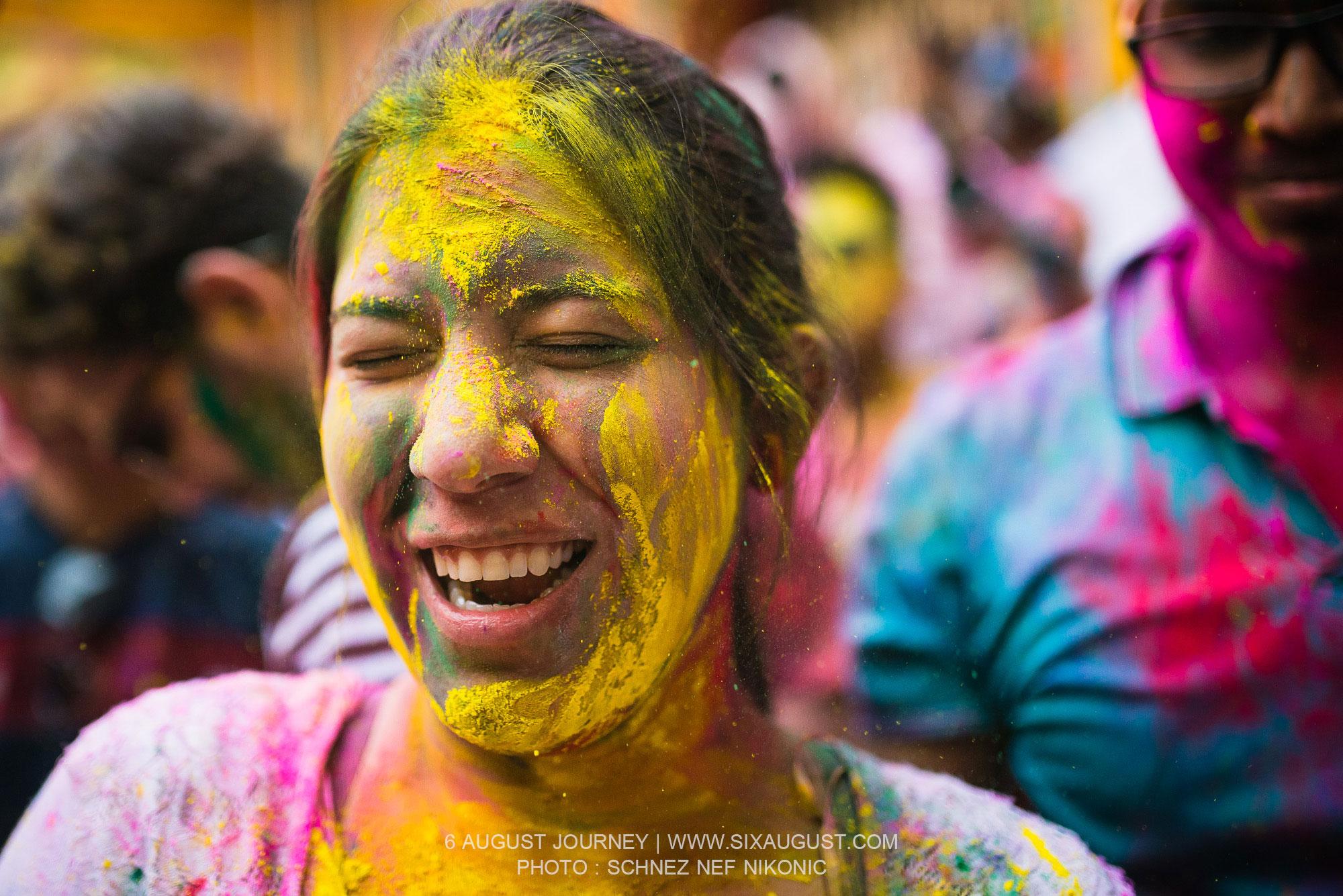 สนุกไหม เทศกาล Holi