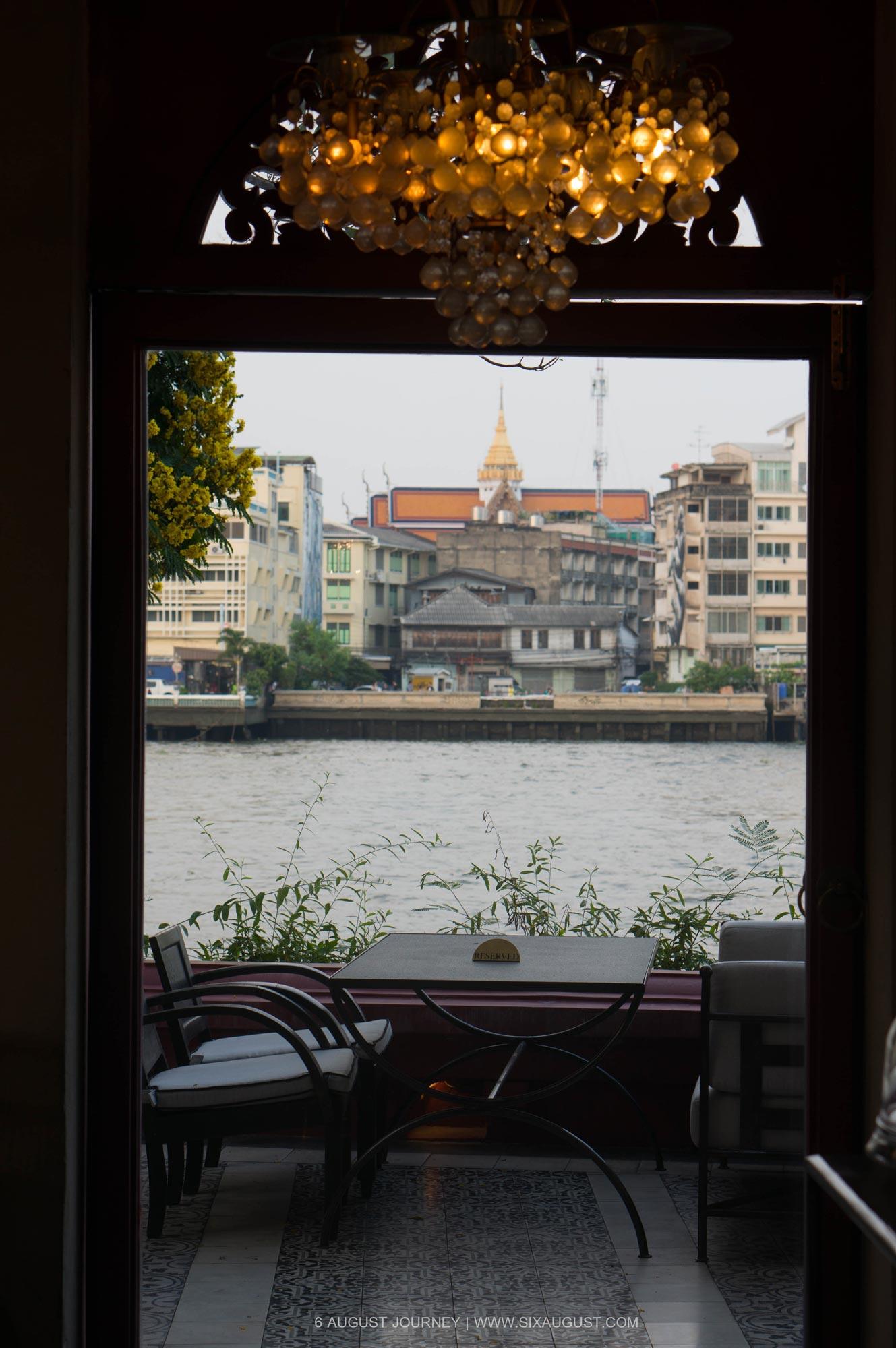บรรยากาศริมน้ำ ร้าน Nye Cafestaurant