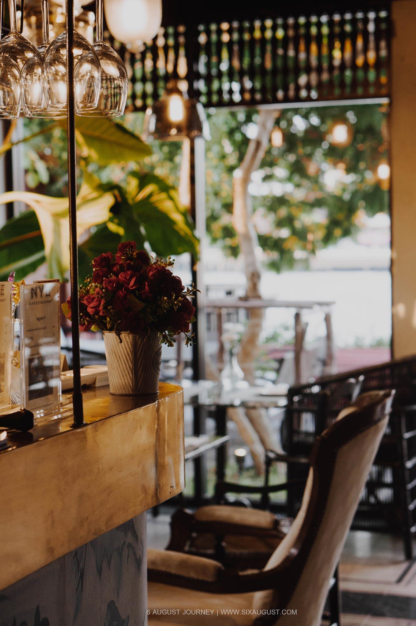 เคาเตอร์ ร้าน Nye Cafestaurant