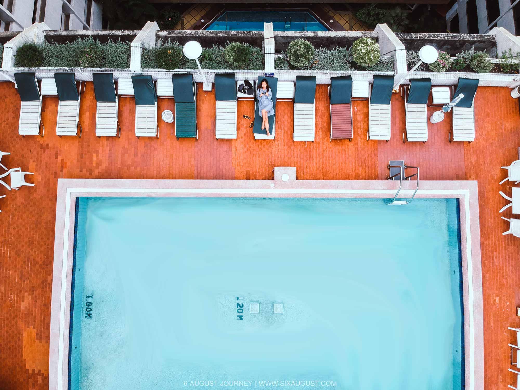 สระว่ายน้ำ โรงแรมเอเชีย รีวิว