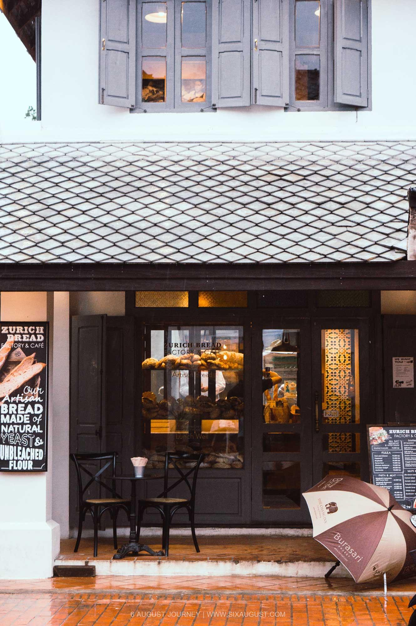 ร้าน Zurich Bread หลวงพระบาง ที่เที่ยว