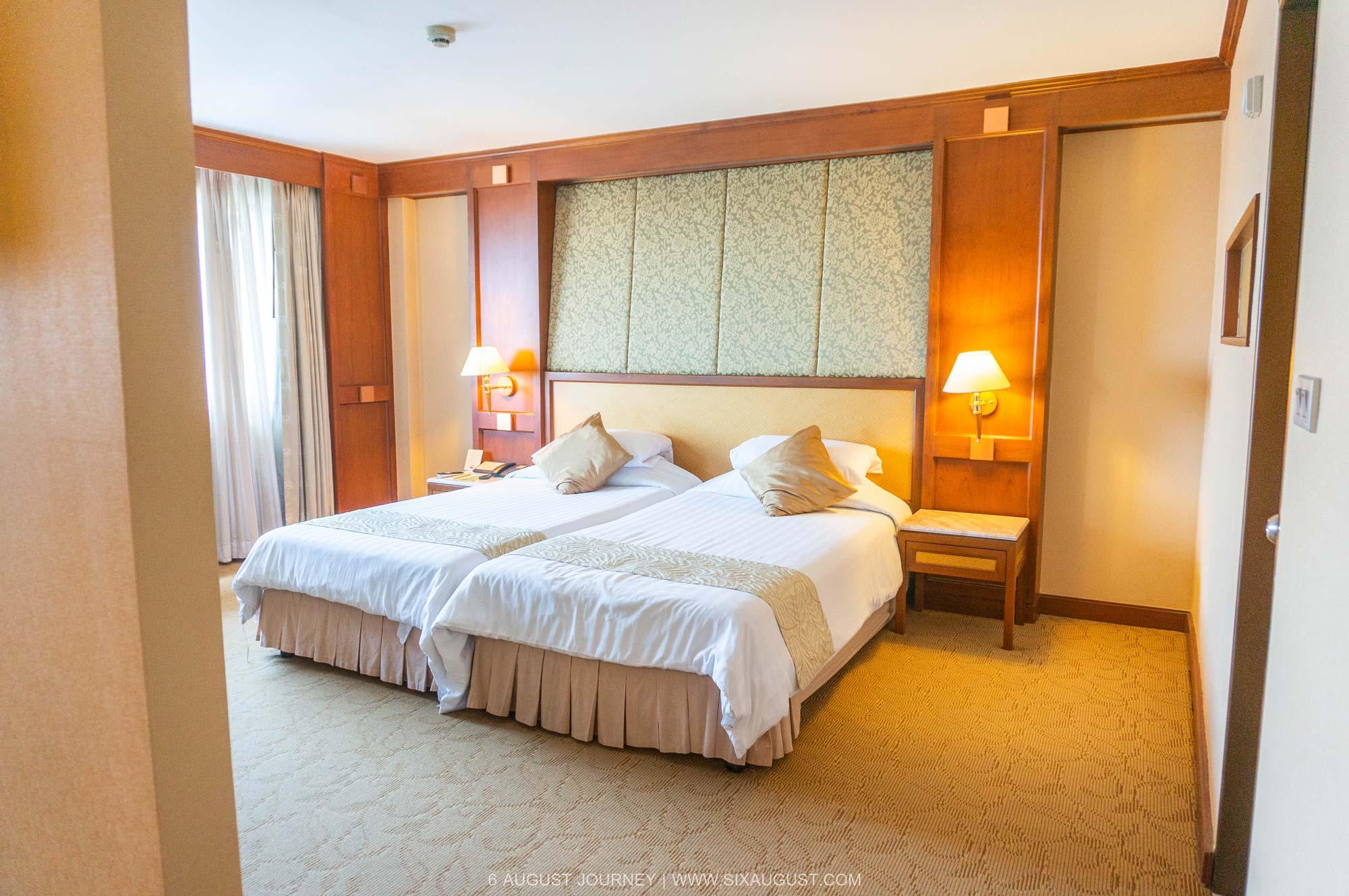 ห้องนอน โรงแรมเอเชีย รีวิว