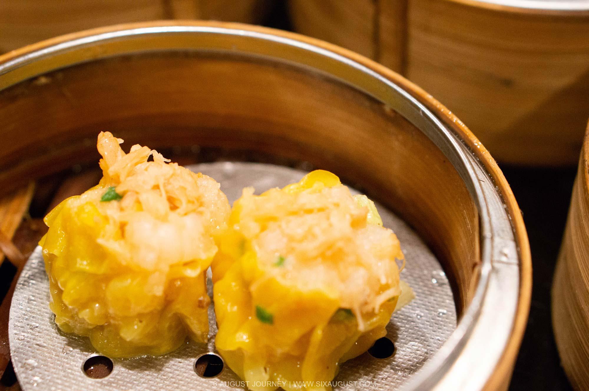 เกี๊ยวหอยเชลล์ บุฟเฟ่ต์ติ่มซํา โรงแรมเอเชีย