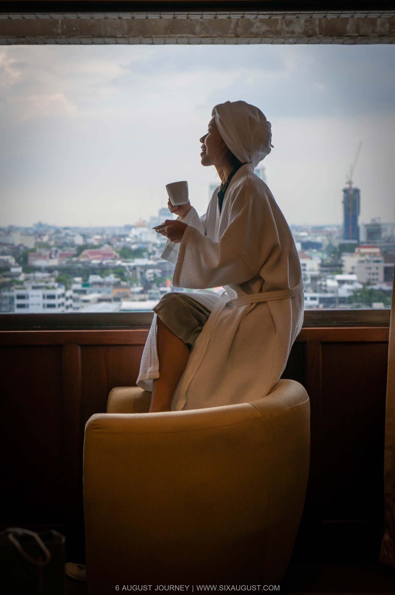 จิบกาแฟ โรงแรมเอเชีย รีวิว