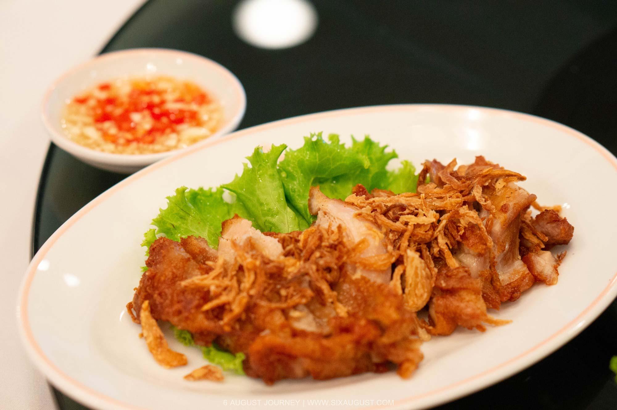 ไก่ทอดเวียดนาม บุฟเฟ่ต์อาหารเวียดนาม