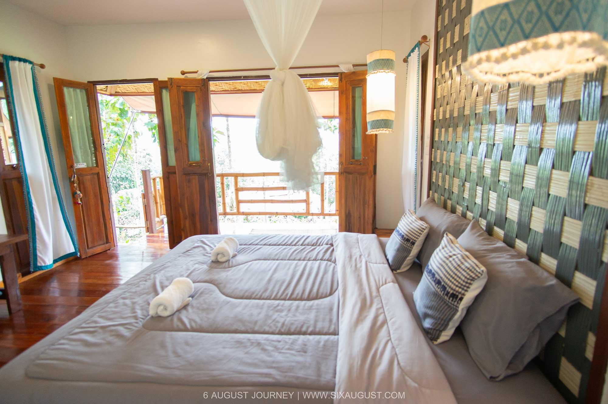 ห้องนอนบ้านดอกแก้ว บ้านสวนในฝัน