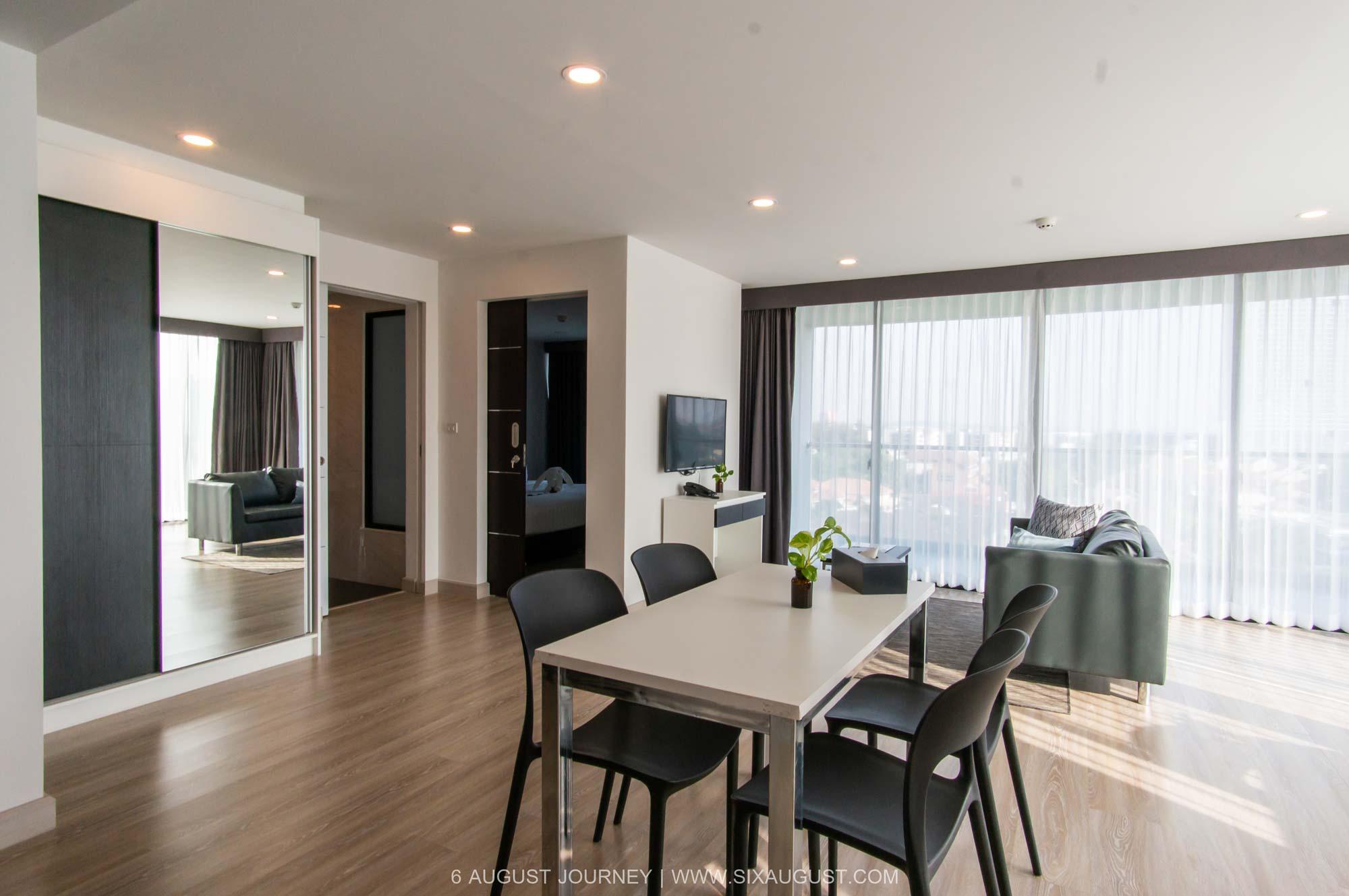 ห้อง Premier Suite ของ The Rizin