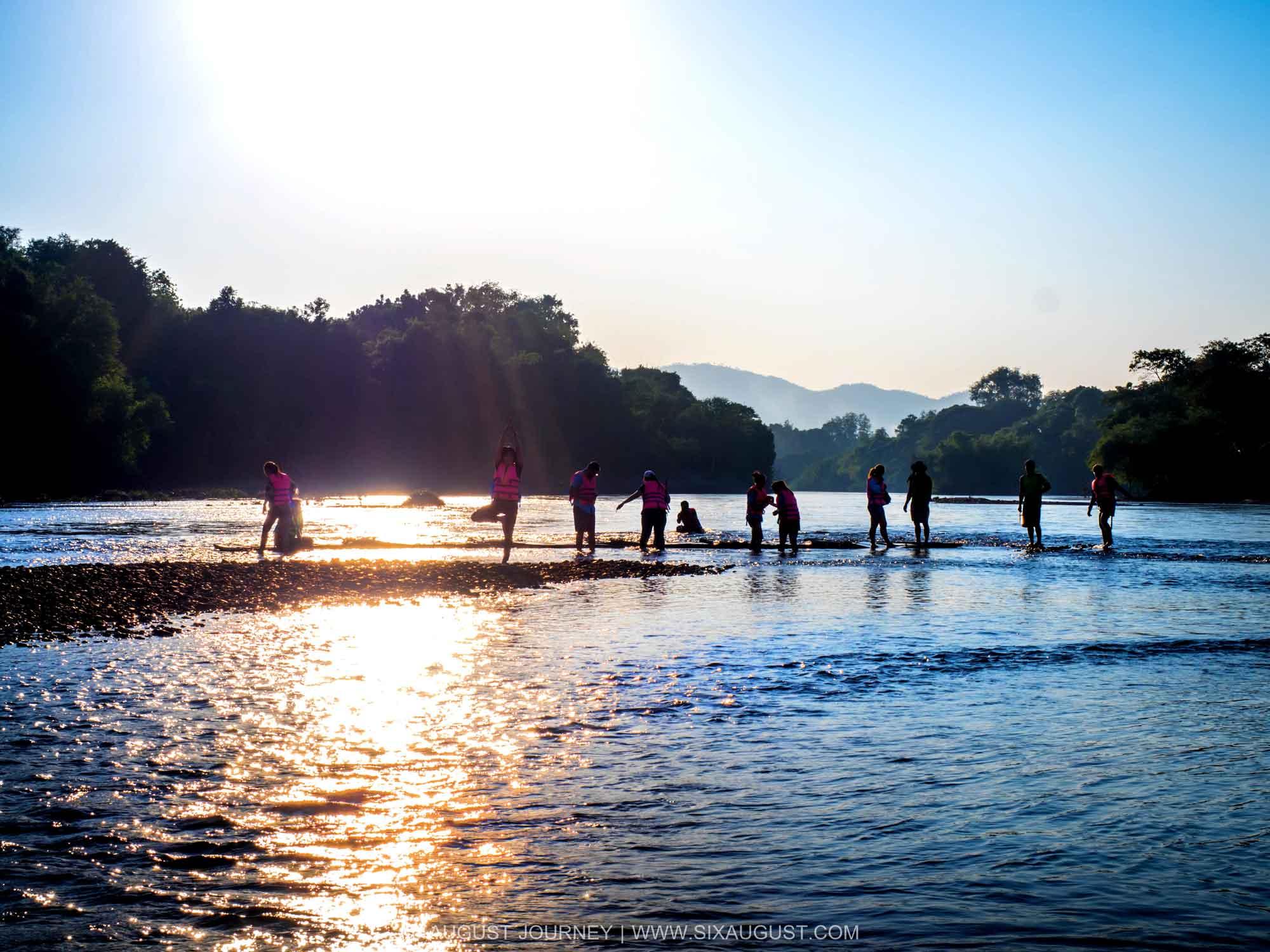 หาดกรวด คำแสด กาญจนบุรี