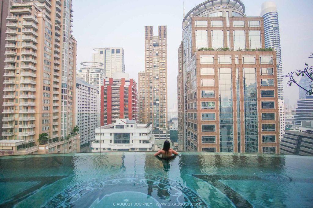 สระว่ายน้ำ Hotel Muse