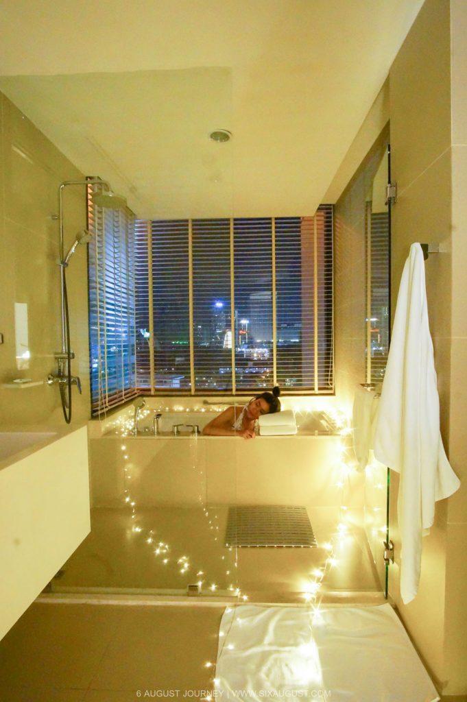 ห้องน้ำที่ Holiday Inn Pattaya ห้อง Executive