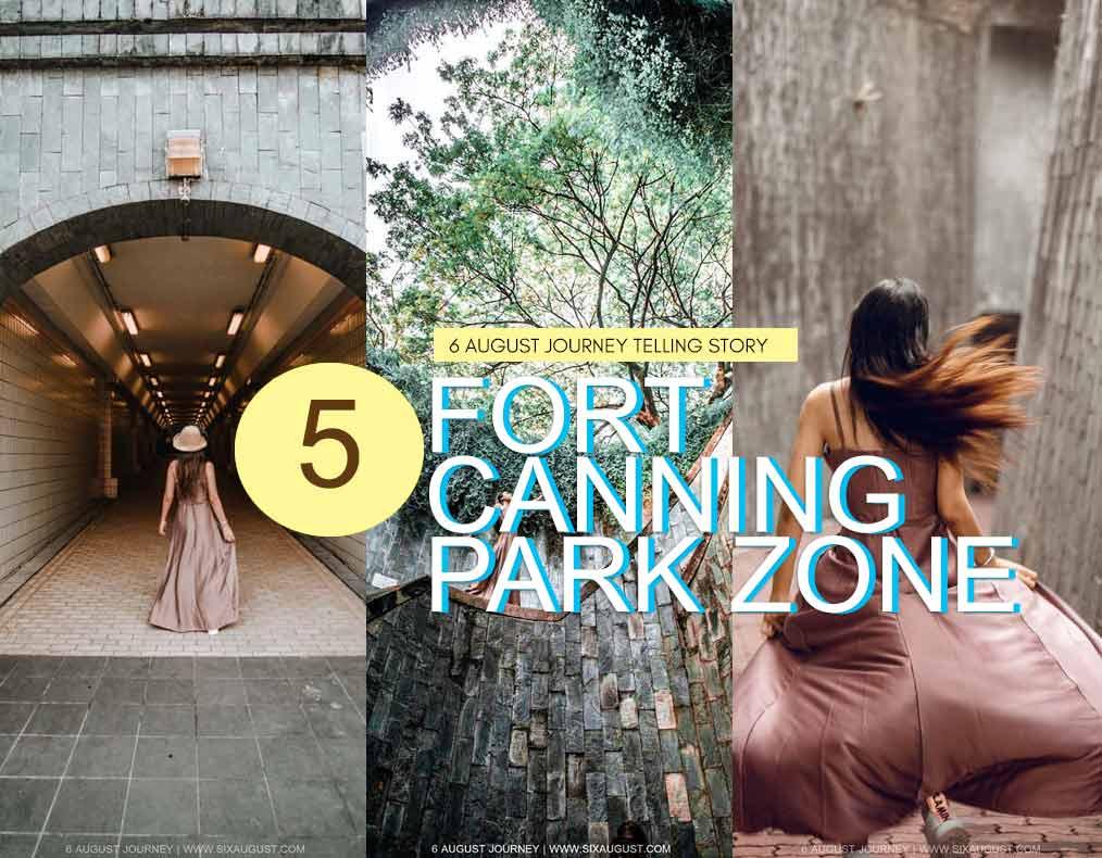 Fort Canning Park | 5 จุดถ่ายรูปในสวน และ วิธีมาที่ง่ายมาก