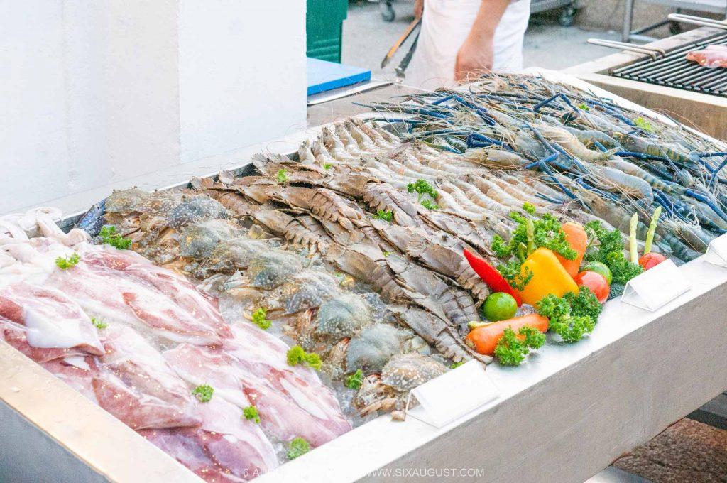 ไลน์อาหารทะเล บุฟเฟต์ดุสิตธานีหัวหิน