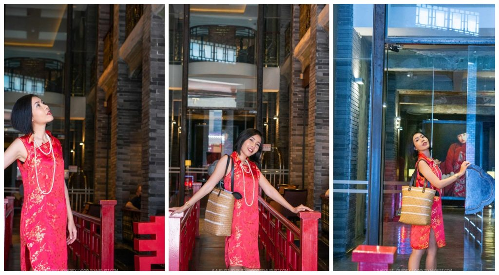 ทางเข้า Shanghai Mansion