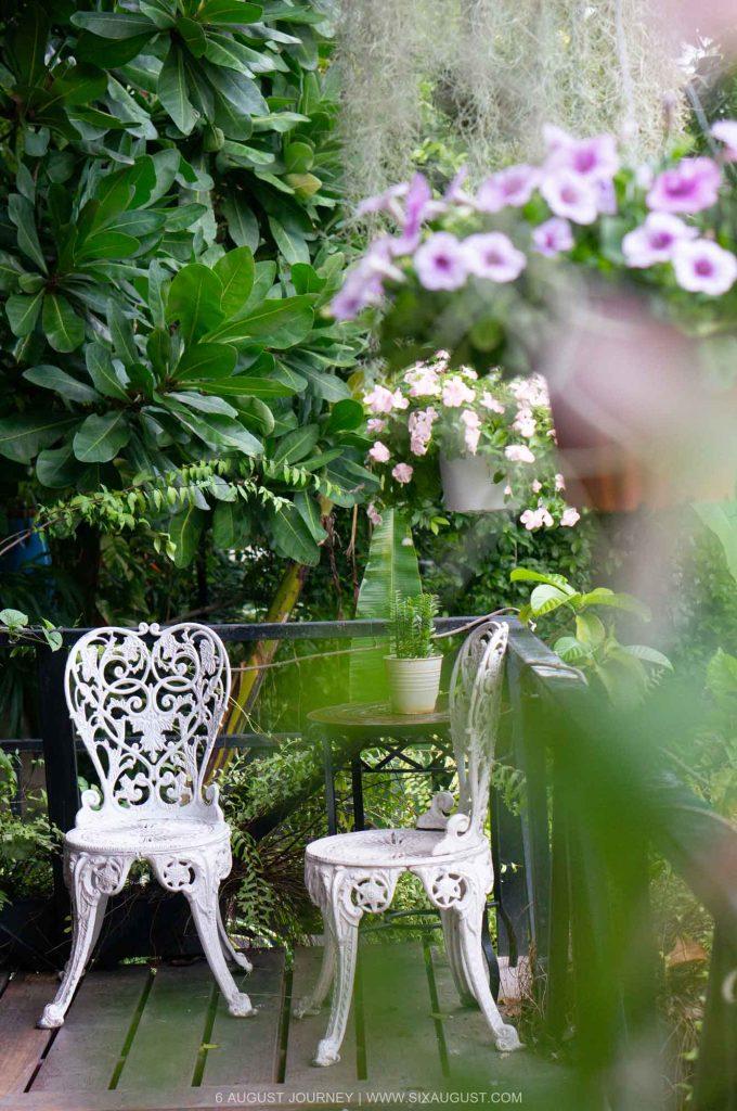 มุมถ่ายรูปสวยๆ Agalin Garden Room