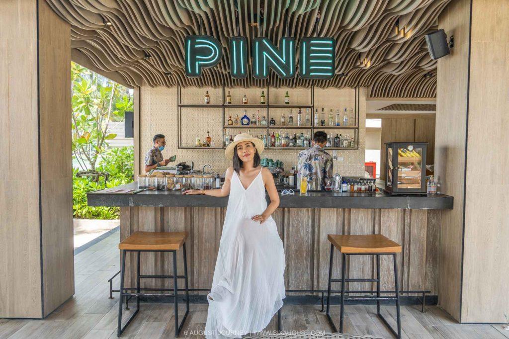 INTERCONTINENTAL PHUKET รีวิว Pine Bar