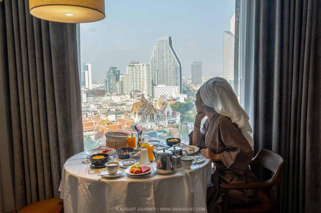 โรงแรมมณเฑียร สุรวงศ์ อาหารเช้า